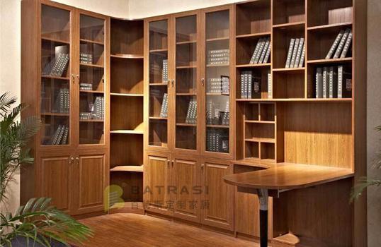 定制书柜 板式书柜