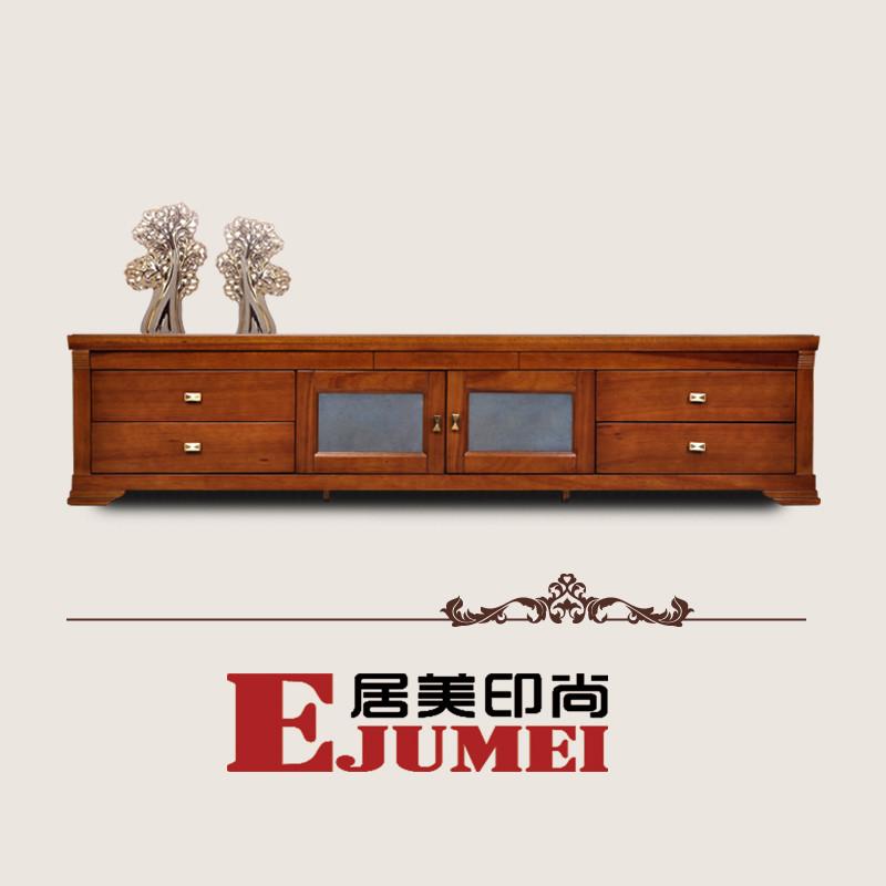 居美印尚 奥斯卡04系列胡桃木厅柜