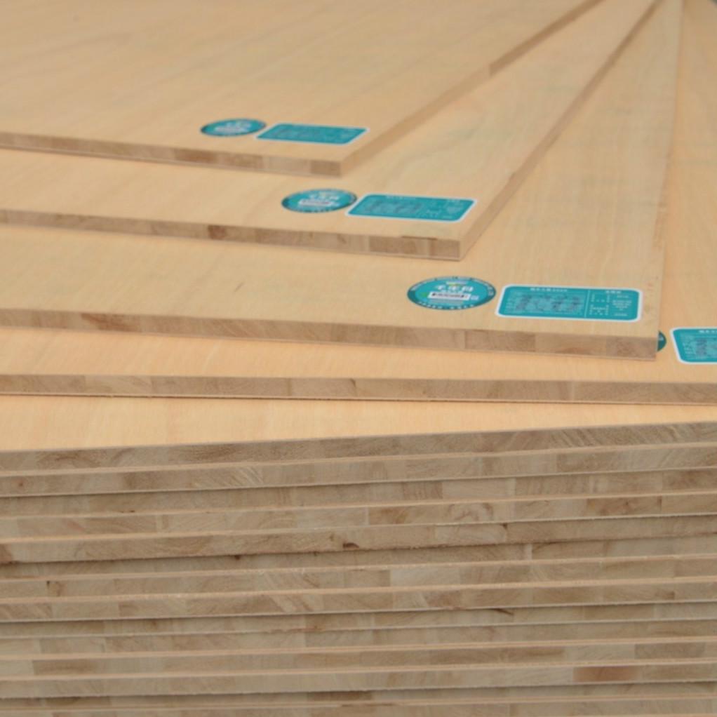 千年舟e0级18mm细木工板大芯板衣柜框架板