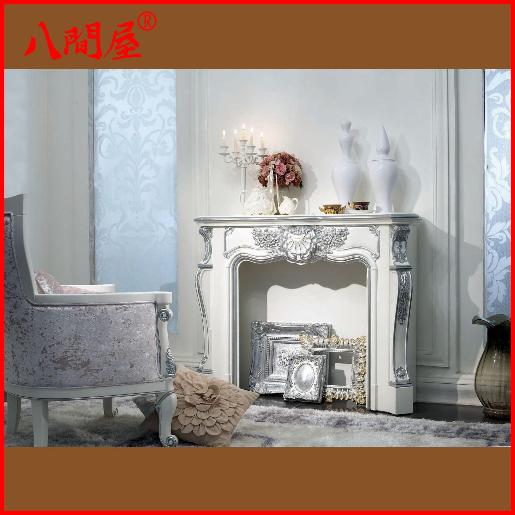 欧式新古典取暖壁炉 装饰炉